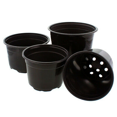 Bulk Flower Pots (Bulk Case (Large Quantites) - Nursery Flower Pots Plant Containers Metric)