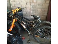 Two bikes the same