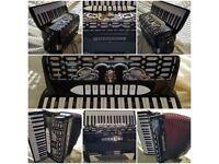 Guerrini Piano Accordion - model Oxford 3