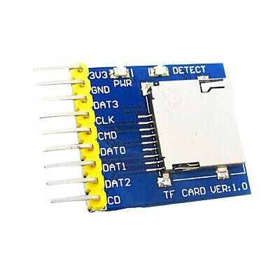 Micro Sd Card Module Slot Socket Reader For Stm32 Msp430 Avr Pic