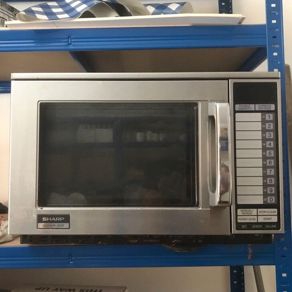 Sharp commercial microwave | in Eaglesham, Glasgow | Gumtree