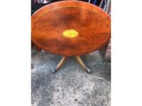 Tilt top coffee table