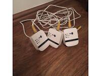 BT Mini Wi-Fi Home Hotspot 600 Powerline Multi Adapter Kit Pack of 3 in White