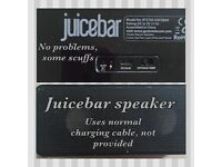 Portable speaker - juice bar