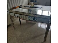 Stunning Mirrored Table