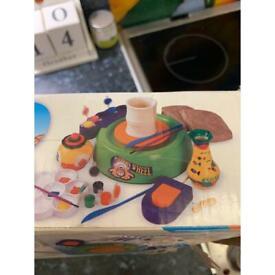Children's potters wheel