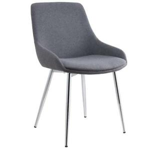 2PK Grey Side Chair Sale-WO 7699 (BD-2580)