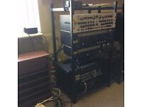 "16U rack mounting frame for 19"" Equipment"