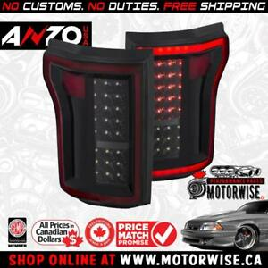 Anzo 2015-2017 Ford F-150 LED Tail Lights | Shop & Order at www.motorwise.ca | Free Shipping Canada Wide