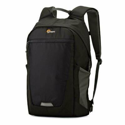 Lowepro - Photo Hatchback Camera Backpack - Gray, Black - Lowepro Black Backpack