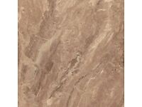 Elettra Brown Porcelain tile (60cm x 60cm)