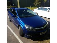 Vauxhall Astra 3 door 1.6i 16v Design 2009, in Ultra metallic blue and only 63700 miles