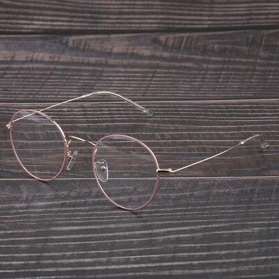 Vintage Retro Nette Runde Brille Brillen Metallrahmen Für Frauen Männer