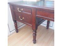 Antique desk. Edwardian c1900 great condition