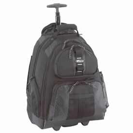 "Targus TSB 700-11 15.4"" Rolling Laptop Backpack. Carry case with wheels"