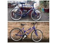 GENTS AND LADIES BIKES FOR SALE