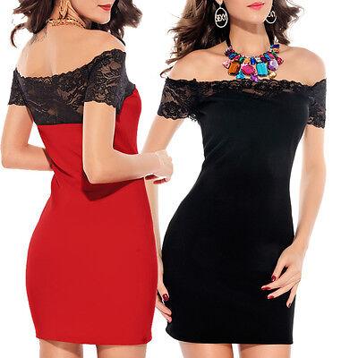 Abito pizzo donna vestito rosso vestitino mini nero abitini miniabito festa