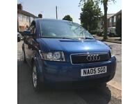 BARGAIN!! Audi a2 1.4 TDI - lady owner 12 months mot. Full Audi service history PRICE REDUCED!!