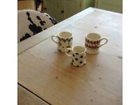 Emma bridgewater cups candles