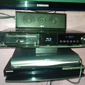 LG 5.1 blue ray home cinema system