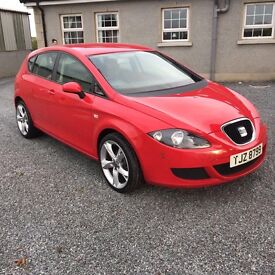 Red seat Leon for sale great going car