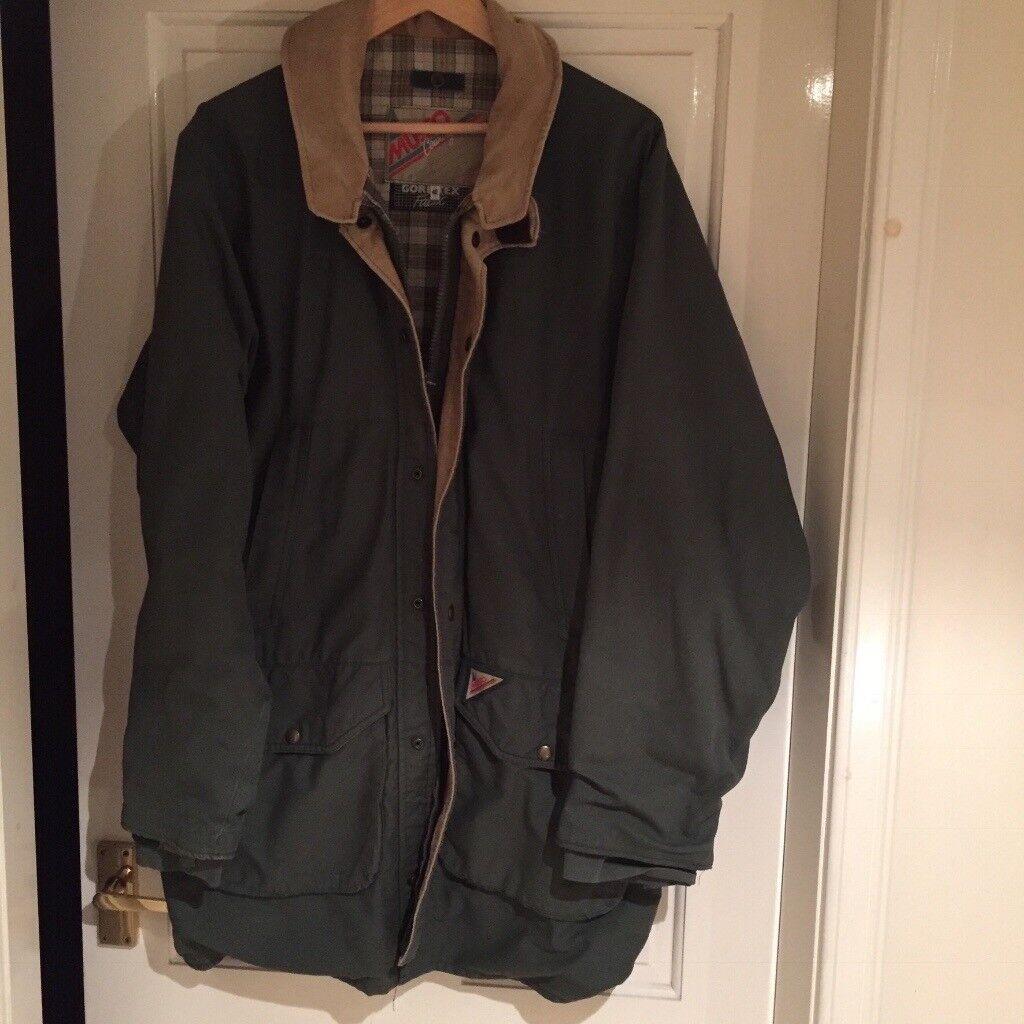 Musto country goretex jacket