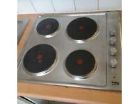almost new electric hob by Beko