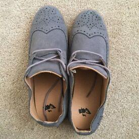 Men Suede Smart Shoes