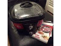Go Chef 8 in 1 cooker - slower cooker, roasts, steams. Never used have instructio and recipie book.