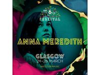 Anna Meredith tickets for tonight at St Lukes