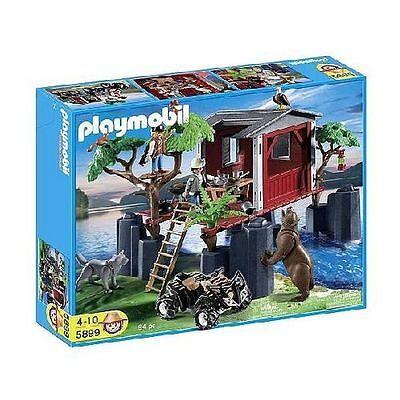 PLAYMOBIL® 5899 Wildlife Baumhaus mit Tieren und Zubehör NEU/OVP