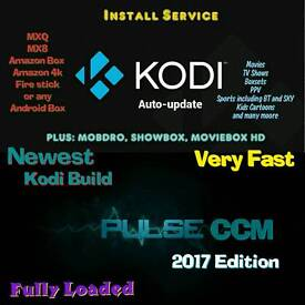Kodi 16.1 with Pulse CCM 2017 build INSTALL SERVICE FOR AMAZON FIRE STICK/4K/ANDROID BOX