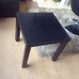 New Argos black table
