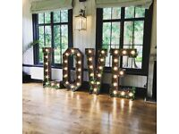Giant LED Letters from £95!!