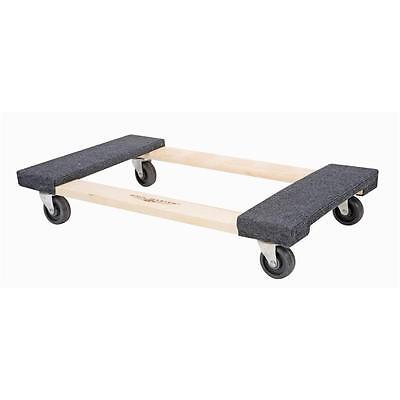 New 2 Pack Heavy Duty 1000lb Furniture Movers Dolly Moving Hand Truck
