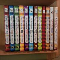 9 diary of a wimpy kid books and 1 wimpy kid journal