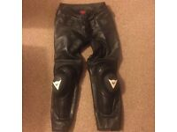Dainese leather motorbike trousers (size 50)