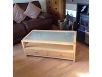 Drawer Storage Coffee Table