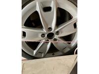 17 inch Audi wheels