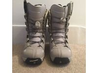Salomon Snowboard Boots Size 38/39 and Bindings