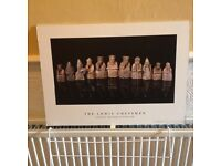 Cool Lewis chessmen poster