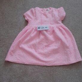 Summer girls dress size 18-24 months