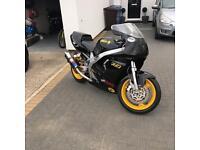 Yamaha Fzr600r track bike