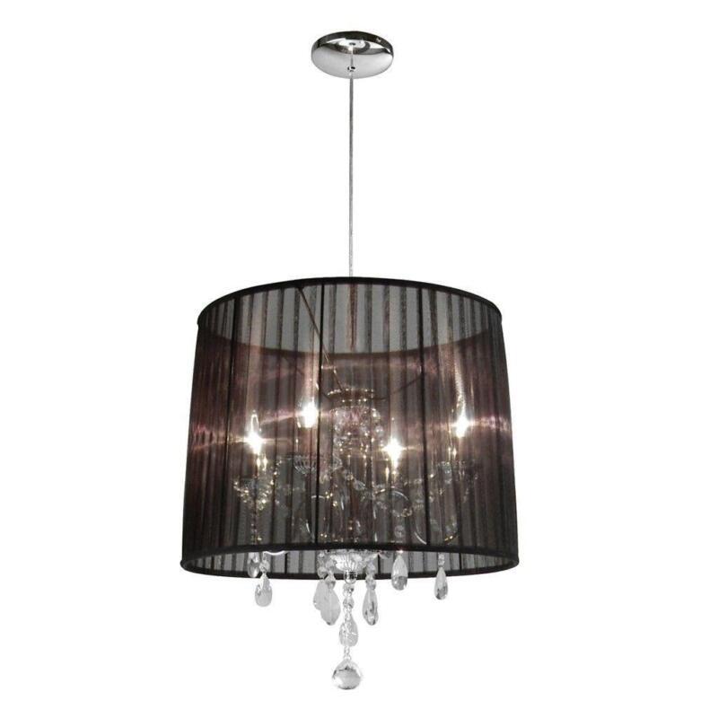 organza lampe ebay. Black Bedroom Furniture Sets. Home Design Ideas