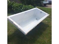 Bath Tub- white
