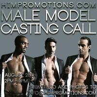 Handsome International Men is casting for models