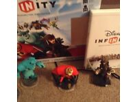 Nintendo Wii Disney infinity game