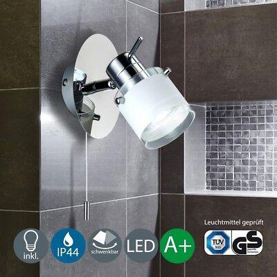 LED Badezimmerleuchte Wand-Lampe Bad-Strahler Spot IP44 Beleuchtung Spiegellicht ()