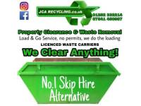 Licensed Rubbish Clearance Waste Removal Skip Hire House/Garden/Shed/Garage Demoliton Junk Disposal