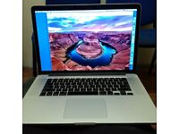 Macbook Pro 15' 2.7GHz Intel Core i7 early 2013 , boxed